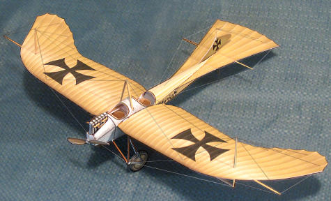  New Etrich Taube paper model kit